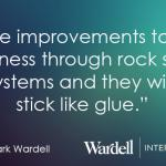 Quote | Make improvements to your business through rock solid systems and they will stick like glue